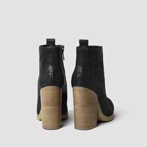 All Saints Black Lakota Boots